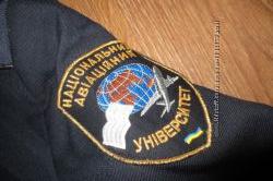 Форма НАУ авиационный, рубашки китель пиджак юбка галстук