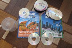 Золотой глобус, журналы, диски.