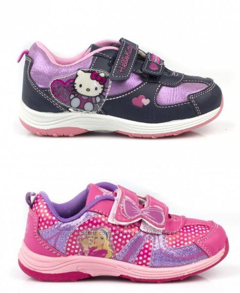 Фирменные кроссовки серии Barbie и Hello Kitty 24, 25, 26, 27 размеры