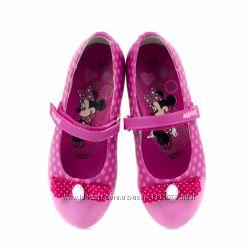 Хит продаж-фирменные туфли балетки Disney 30, 31, 32, 33, 34, 35 размер