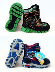 Фирменные зимние ботинки 24, 25, 26, 27, 28, 29 размеры