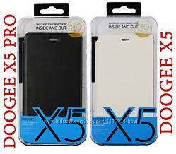 Чехол-книжка Doogee X5, X5 pro  закал. стекло -  оригинал  г. Львов
