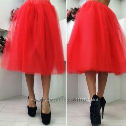 Шикарная юбка пачка фатиновая