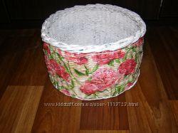 Плетенный корзины
