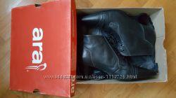 Ботинки, полусабожки черные кожа ARA Германия 7