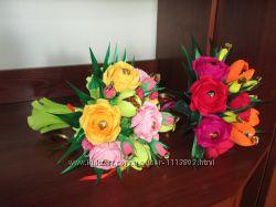 Букет из конфет - цветы, которые не вянут
