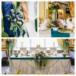 Букет нареченої, оформлення весілля, автокортежу