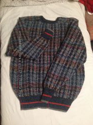 Мужской зимний свитер шерсть