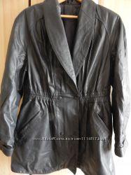 Куртка кожаная женская 50 размер