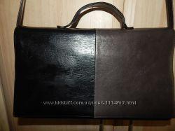 Кожаная  сумка, брэнд L. Credi.
