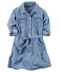 Carters  платье размер - 4, 5, 6 лет.