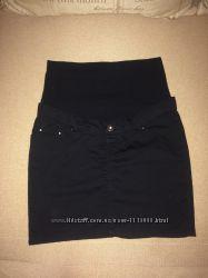 Шикарная юбка для беременных размер 38, S, состояние новой