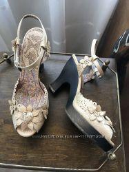 Туфли Anna Sui, кожа, 38р , Италия , оригинал