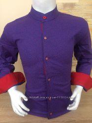 Рубашки для мальчишек рукав трансформер