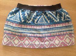 Шикарная юбка Zara 116 см 56 размер