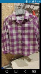 Модная рубашка zara baby