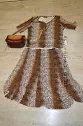 Шикарный классический костюм юбка-блузка Classic Fashion, р. 48-50. Шара