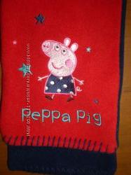 флисовый шарф с Пепой