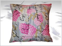 Декоративные подушки Love