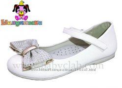Белые лаковые туфли Шалунишка р. 35-36