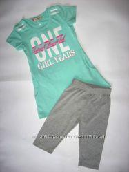 Брендовый летний комплект для девочки , разные модели