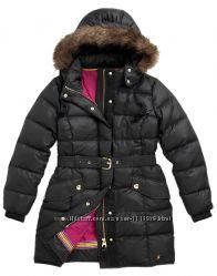 Joules шикарный пуховик пуховое пальто
