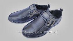 Туфли черные на мальчика на шнурках, Fashion, С6602, ТМ Paliament, размер