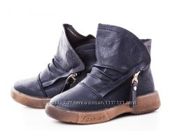 Ботинки для девочки GFB 26, 27, 28, 29, 30, 31р синий cbb5487e125