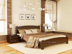 Кровать из натурального дерева Бук Венеция Люкс от Эстелла с Доставкой