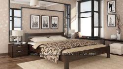 Кровать Рената деревянная Бук от Эстелла с Бесплатной доставкой