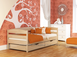 Кровать деревянная детская, подростковая Нота Плюс из Бука с Доставкой