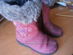 ботинки, сапоги p. 24 встелька 15-15. 5 см, Start-rite. верх-кожа