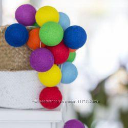 Тайская LED-гирлянда Rainbow 35 шариков