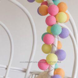 Тайская LED-гирлянда Ice Cream 35 шариков