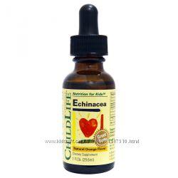 iHerb. ChildLife, Echinacea, эхинацея 29. 6 ml. Айхерб.
