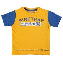 Стильная футболка Firetrap 5-6 лет на мальчика.