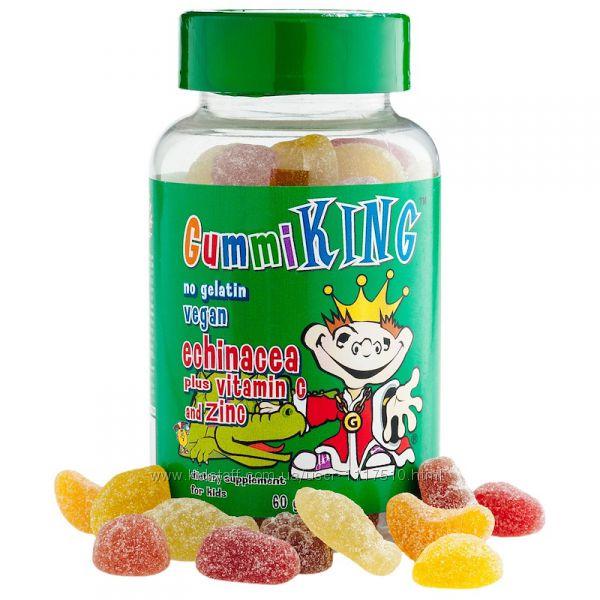 iHerb. Gummi King, Эхинацея с витамином С и цинком, 60 шт. Айхерб.