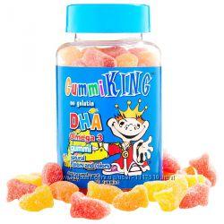 iHerb. Gummi king, ДГК oмега-3, жевательные конфеты для детей, 60 шт. Айхер