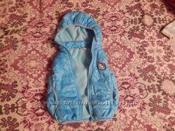 теплая жилетка для девочки с Китти
