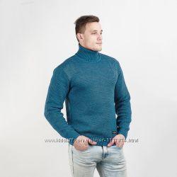 Теплый мужской свитер двойной вязки, Украина, М, L, XL, XXL