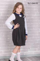 Сарафан DL1-044 от 116 см до 140 см, есть выбор по школьной одежде