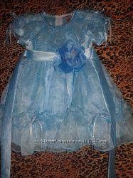 Нарядное платье для принцессы на 1 годик