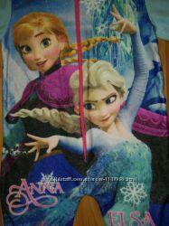 слип, флисовый человек, пижама, для дома Disney, Anna, Elza, Frozen, Русало