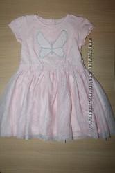 Нарядное платье с фатиновой юбкой Y. D на 18-24 месяцев. Новое.