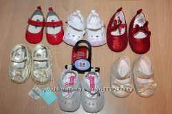 Пинетки, ботиночки next, primark, george на 0-6, 6-12, 12-18 месяцев.