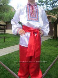 Украинский национальный костюм, прокат, возраст 6, 7, 8-11 лет