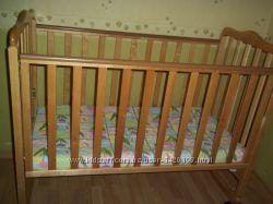 Дитяче ліжко ТМ Верес Соня з новим матрасиком