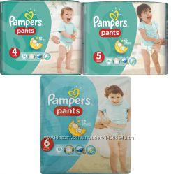 Трусики Pampers Pants 4, 5, 6