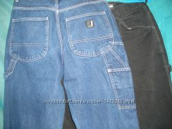 Джинсы на талию 76см, рост высокий, черные и синие