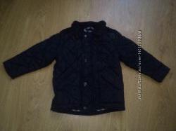 Красивая стеганная стильная куртка парка 2-3 года